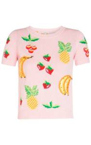 Pull-manches-courtes-Salade-De-Fruits