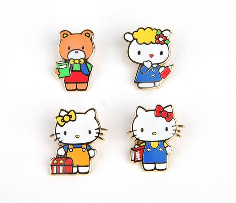 Hello Kitty Second Edition Collector's Pin Set